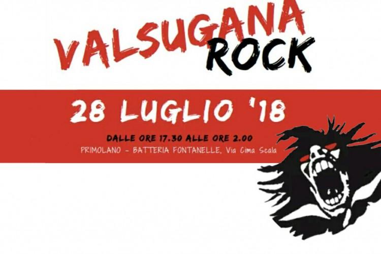 Valsugana Rock 2018 Musica e Concerti 2018